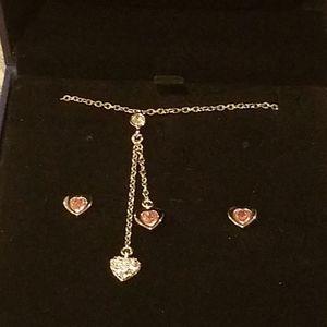 Swarovski Earrings & Necklace Set